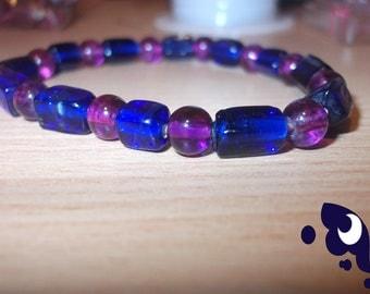 Princess Luna themed Beaded Bracelet