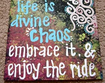 Divine Chaos Canvas