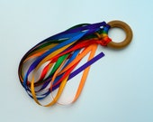 2 Waldorf Rainbow Hand kite Montessori Toy Birthday Fun