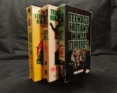 Teenage Mutant Ninja Turtles VHS Movies 1, 2, 3