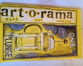 1 year subscription to art-o-rama PLUS original ART