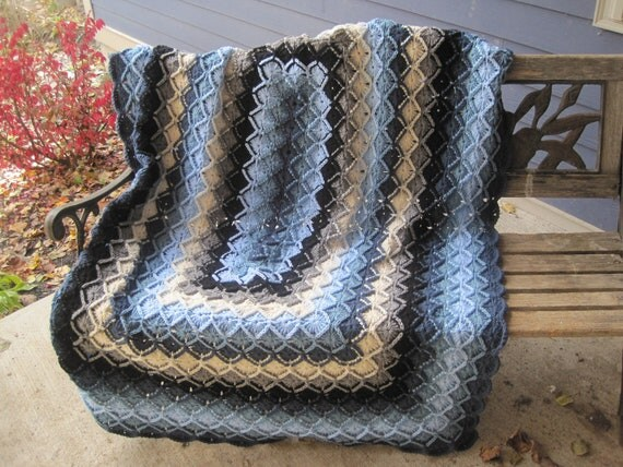 Free Crochet Rectangle Afghan Pattern Traitoro For