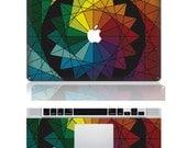 Geometric figure--Macbook Cover Protector Decal Laptop Art Sticker Skin Mabook Skin for Apple Macbook Pro/ Macbook Air/ipad 2