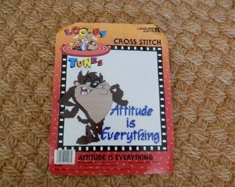 Attitude is Everything Cross Stitch