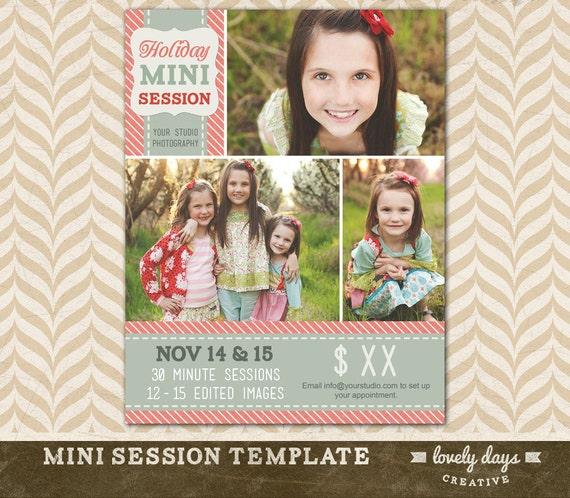 Christmas mini session template holiday blog board for for Free mini session templates