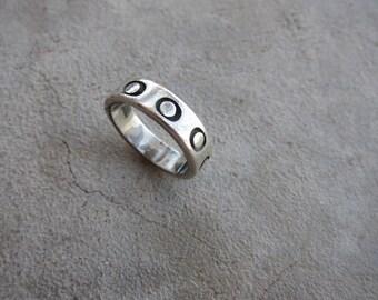 Circle of Circles Ring - Sterling Silver