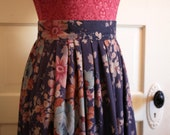 Vintage Fall and Winter Floral Fashion Skirt