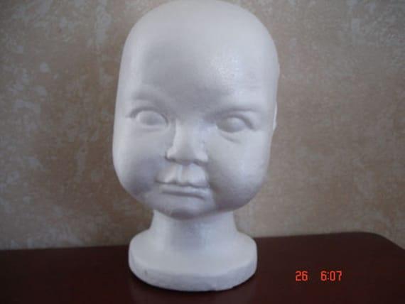 Mannequin Toddler Child Display Styrofoam Head By