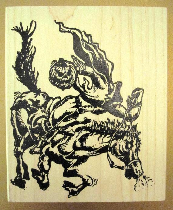 New Arizona Stamps, Too Rubber Stamp Headless Horseman 1995