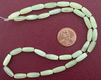 12x5 melon gemstone new jade beads 15