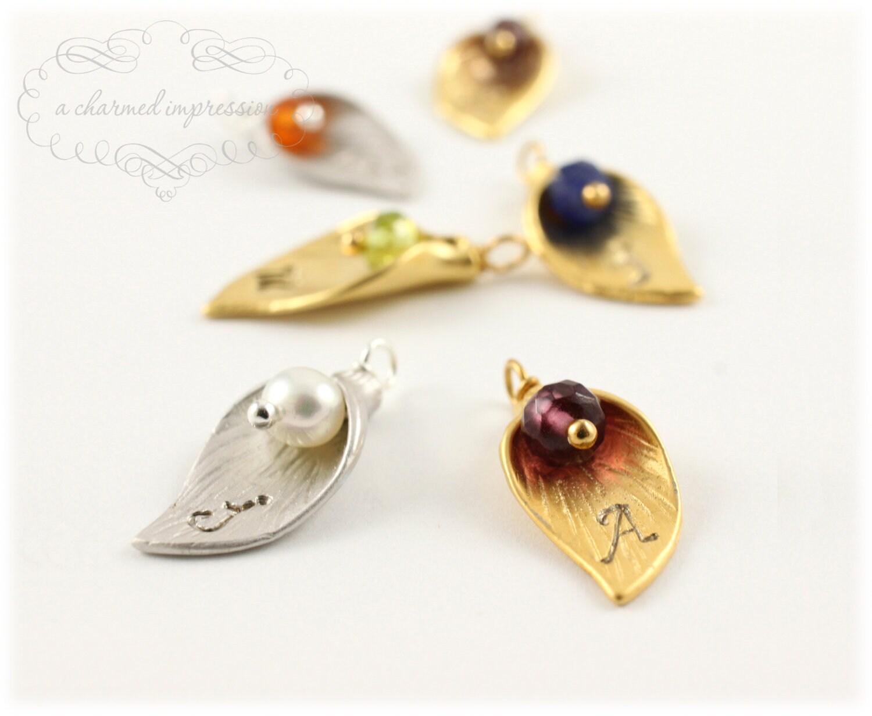 add a charm birthstone charm bracelet add on gemstone calla