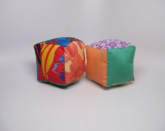 Rainbow rattle blocks