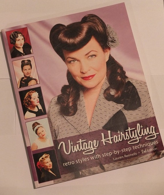 Items Similar Vintage Hairstyles Book Etsy