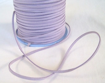 Lavender Faux Suede Cord 20 Feet USA Seller