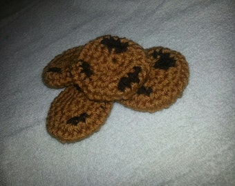 Chocolate Chip Cookie Cat Toy crochet