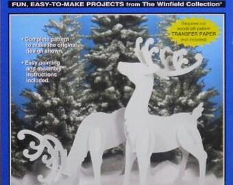Elegant Reindeer (Large Size) Wood Craft Pattern