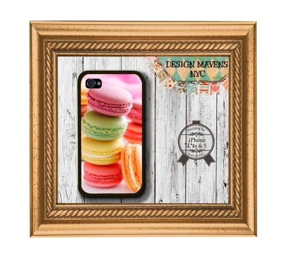 Colorful Macaroons iPhone Case,  Plastic iPhone Case,  iPhone 4, 4s, iPhone 5, iPhone 5s, iPhone 5c, iPhone 6, 6s, 6 Plus, iPhone Case