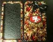 SF 49ers phone case iphone4/4s