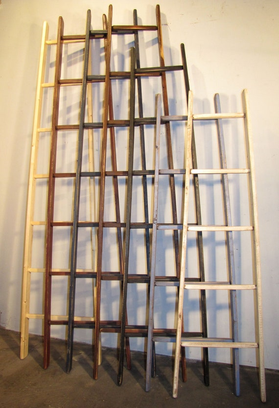 Rustic Orchard Ladder 5 Rung 53 Tall Color Choice