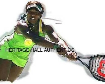 Great Serena Williams Art Lithograph only 50 exist rare