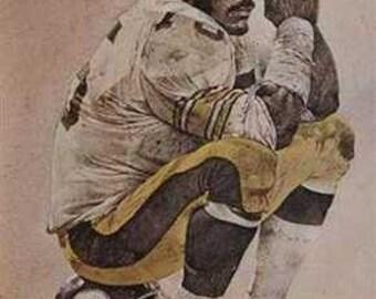 Rare Joe Greene Corning Pittsburgh Steelers Print