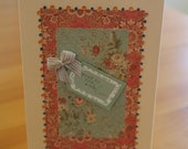 Traditional Floral With Love Card