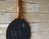 Chalkboard Wooden Paddle Board Adorable