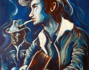 Townes' Blues 11x14 Art Print