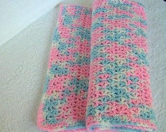 Baby Blanket/Afghan Handmade Crochet
