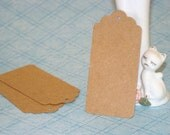 20 Large KRAFT Tags Rustic Natural Party Favors Luggage Tags Blank Labels DIY