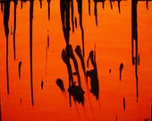 Black Blood Painting