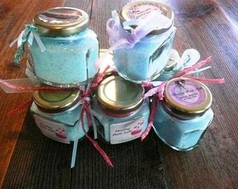 Homemade Healing Bath Salts 4oz jar.