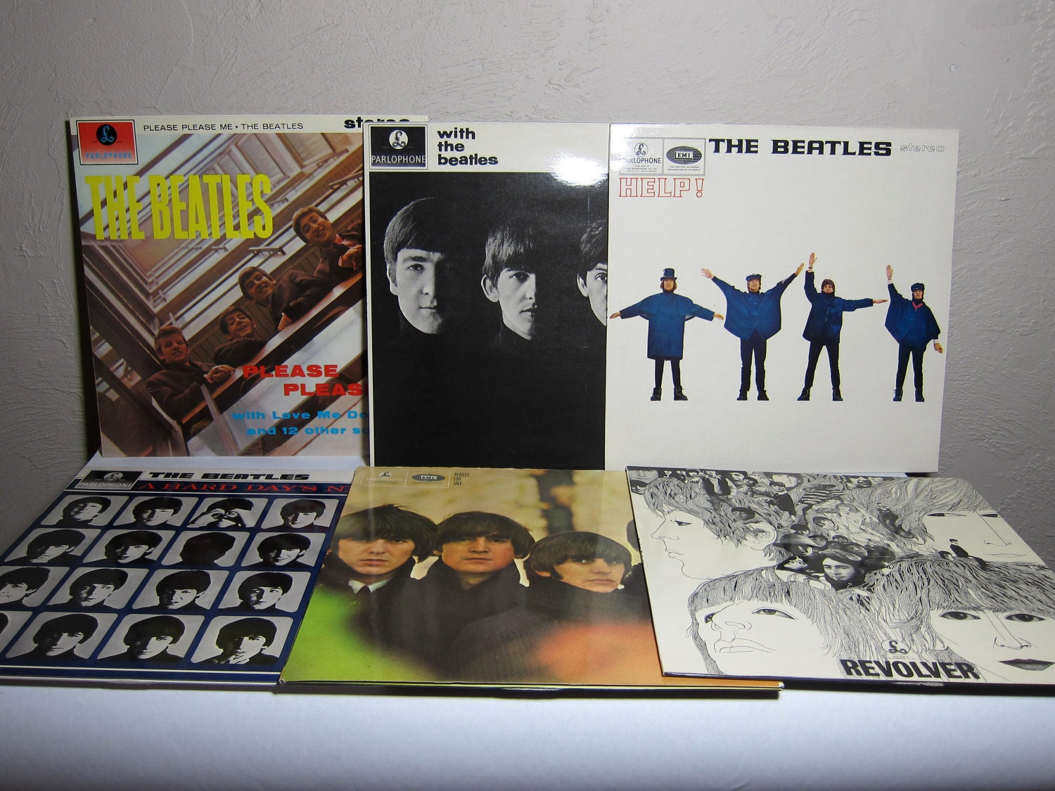 Beatles 13 Albums Like New Price Reduced Blue Box