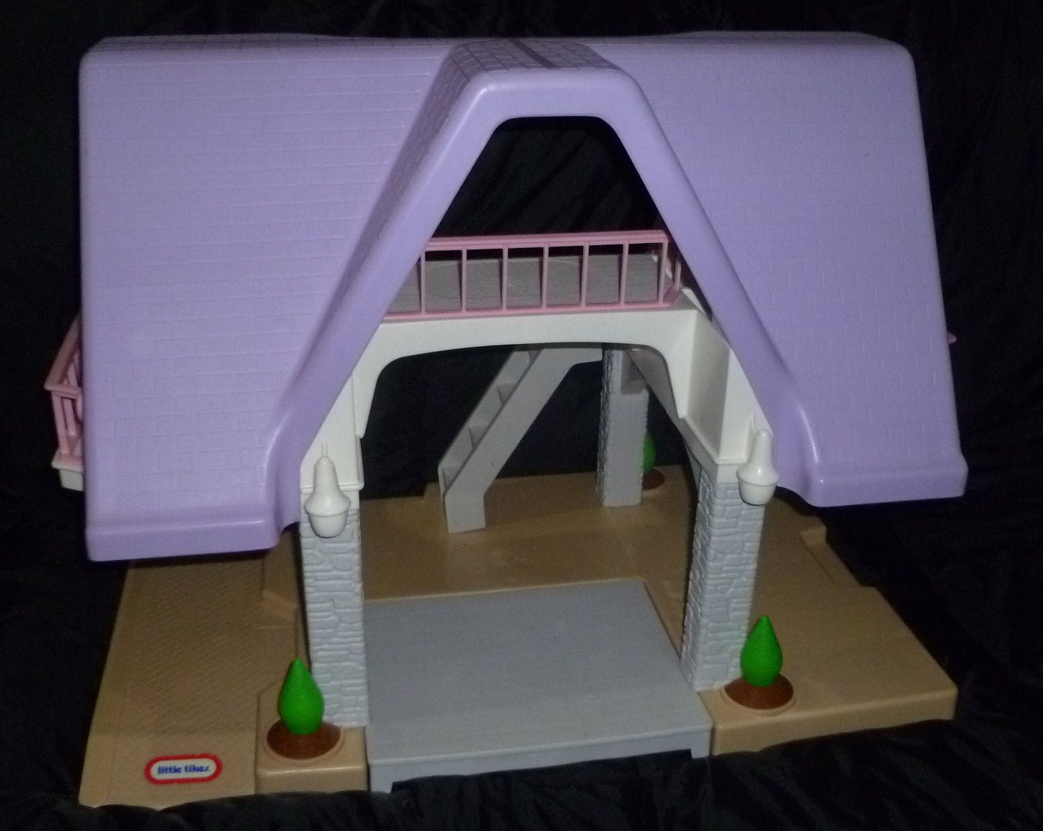 Native American Thunderbird Vintage Doll House Lit...