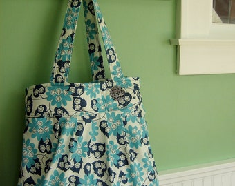Tranquil Turquoise - Low Key Tote