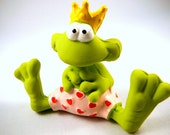 Crown Frog Prince ( unkissed)