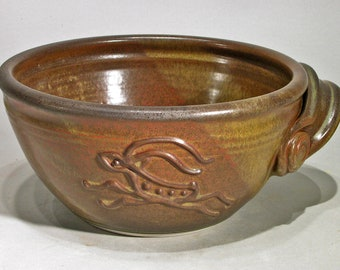 Mixing Bowl -- Leaping Goats