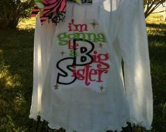 Im Gonna Be a Big Sister Shirt