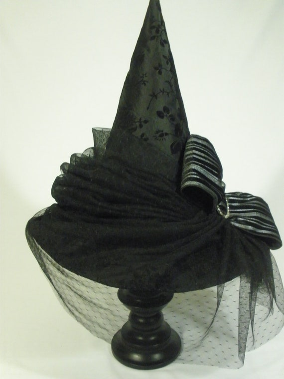 Couture Witch Hat Roxanne Size 22 One Of A