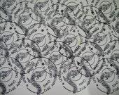 Stamped on card  set 8 sheet