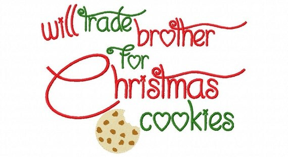Christmas Embroidery Design Will Trade By Sosassyembroidery