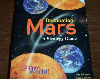 DESTINATION MARS Card Game, University Games, Great Shape