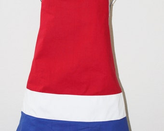 patriotic 4th of july apron