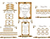 Thanksgiving  Collection - PRINTABLE COMPLETE COLLECTION - Sweet Scarlett Events