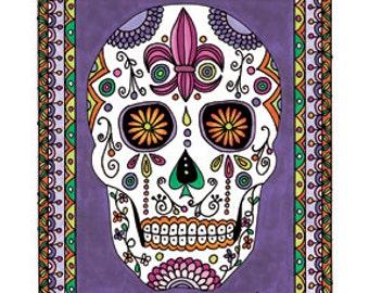 Sugar Skull, Dios de los Muertos Number 4