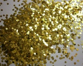 Chartreuse Hex .062 - Nail Glitter - Solvent Resistant- SAMPLE to 2 oz