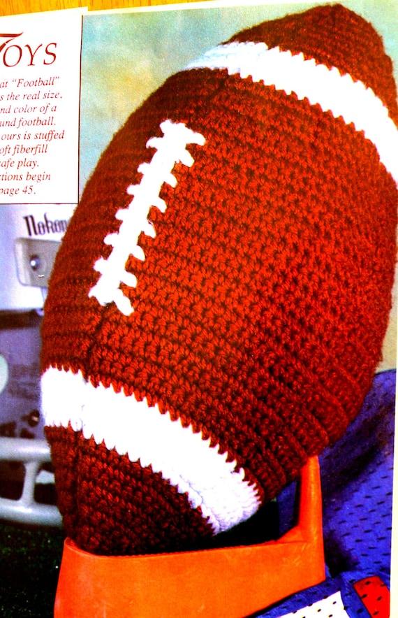 Crochet Football Pattern Dachshund Crochet Pattern Bonus