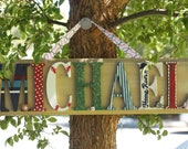 Seven Letter - Personalized Name Plaque