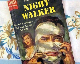 Night Walker, 1954 1st edition Dell book