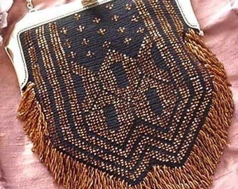 Rolene Beaded Bag Purse Pattern